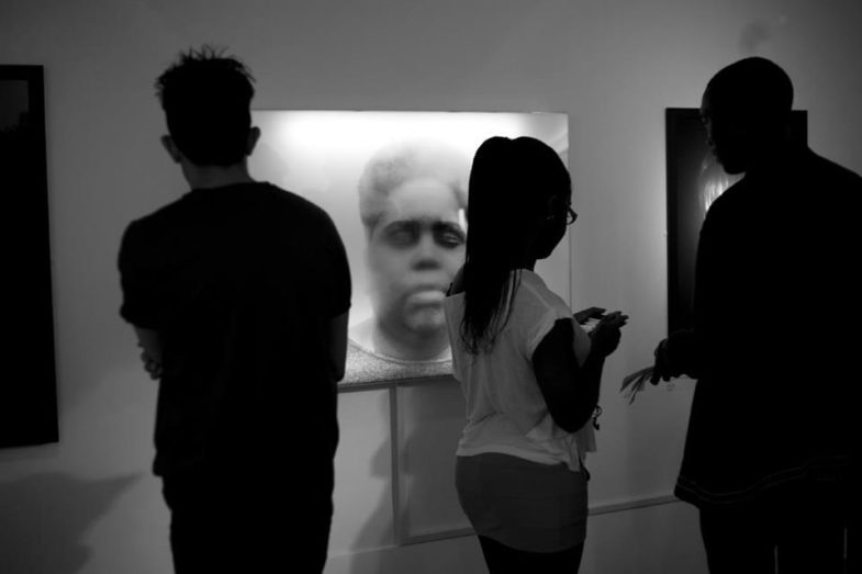 Exhibition shot: The Breath Collection. New Art Exchange, Nottingham 2012